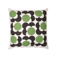 Orla Kiely Big Spot Flower Cushion Cover - Grass Green