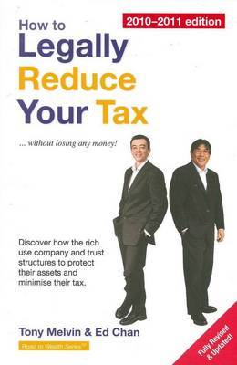 How to Legally Reduce Your Tax by Tony Melvin image