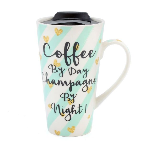 Coffee By Day Travel Mug