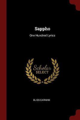 Sappho by Bliss Carman image