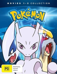Pokemon Movies 1-3 Collector's Edition on DVD