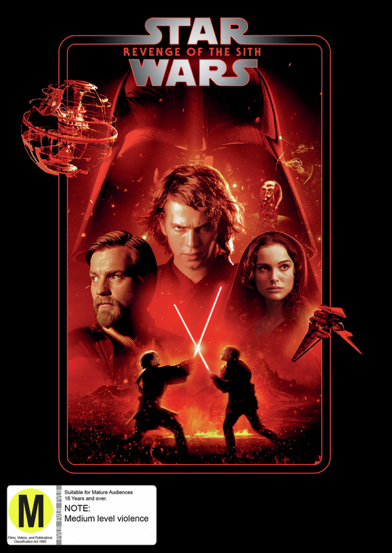 Star Wars: Episode III - Revenge of the Sith on DVD