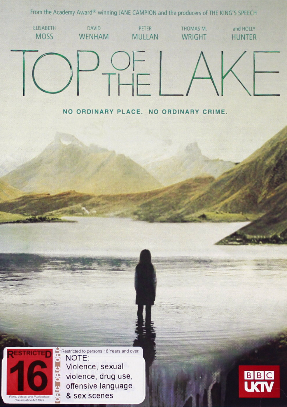 Top of the Lake on DVD image