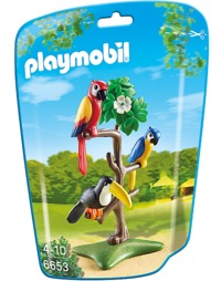 Playmobil: Zoo Theme - Tropical Birds (6653)