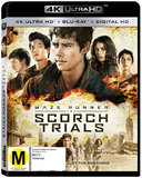The Maze Runner 2: Scorch Trials (4K UHD + UV) DVD