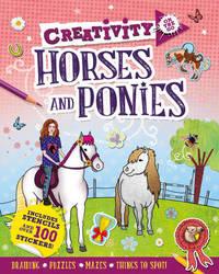 Creativity On the Go: Horses & Ponies by Andrea Pinnington