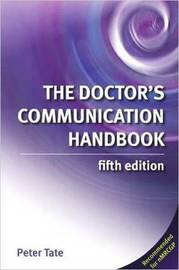 The Doctor's Communication Handbook by Dr Peter Tate image