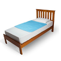 Brolly Sheets Bed Pad Without Wings - Blue