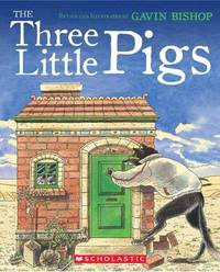 The Three Little Pigs by Gavin Bishop image