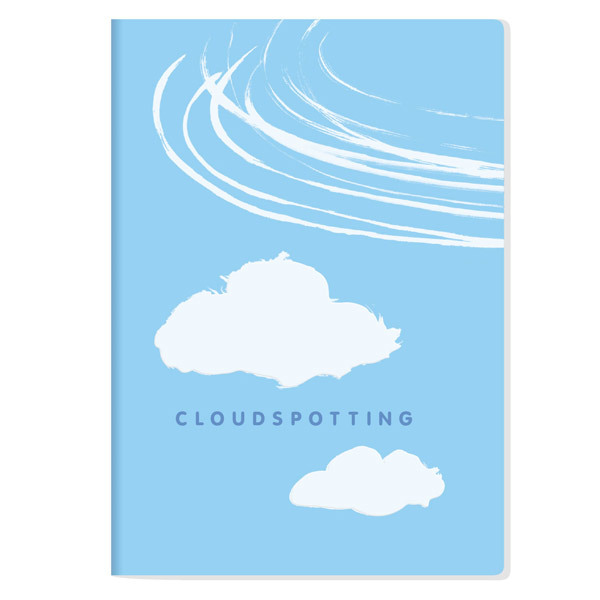 The Unemployed Philosophers Guild: Cloudspotting - Large Notebook