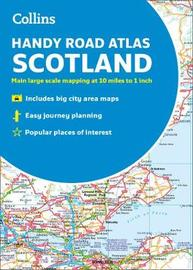 Collins Handy Road Atlas Scotland by Collins Maps