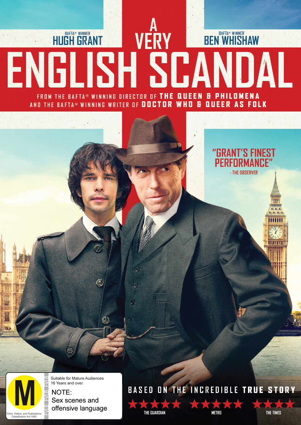 A Very English Scandal: Season 1 on DVD image
