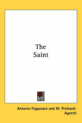 The Saint by Antonio Fogazzaro image