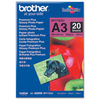 Brother A3 PREMIUM GLOSSY PHOTO 20 SHEET
