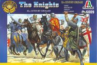 Italeri Crusaders (IIth Century) 1:72 Model Kit