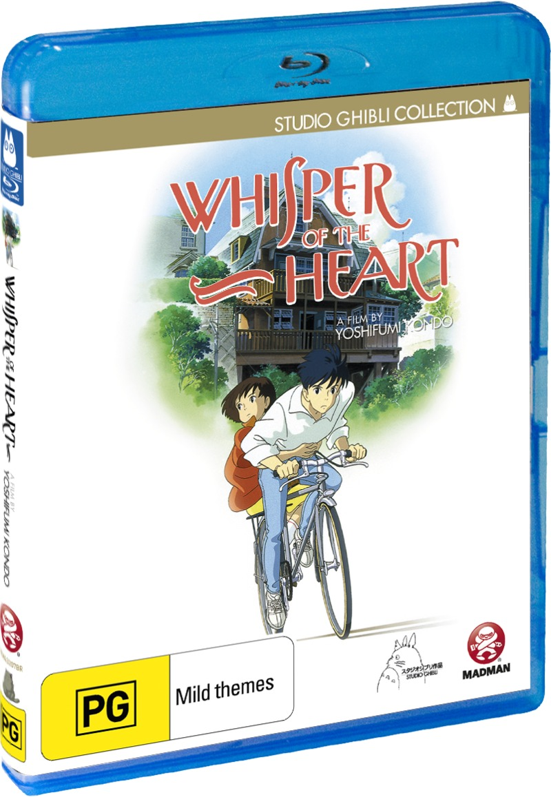 Whisper of the Heart on Blu-ray image