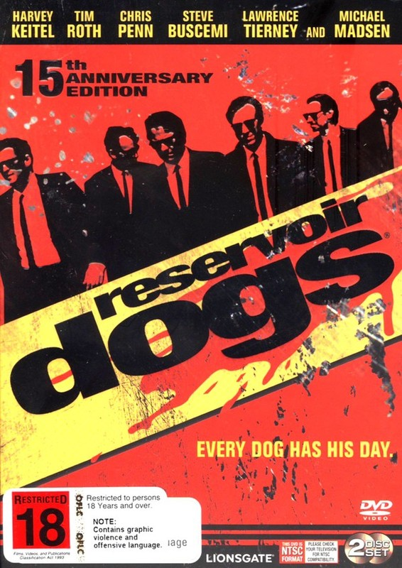 Reservoir Dogs - 15th Anniversary Edition (2 Disc Set) on DVD
