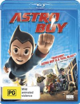 Astro Boy on Blu-ray