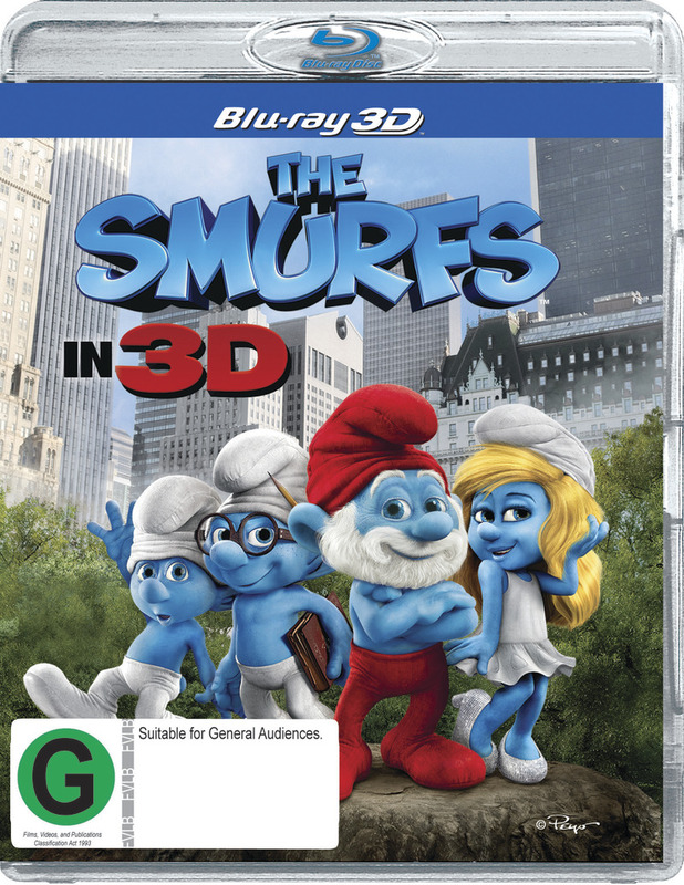 The Smurfs on Blu-ray, 3D Blu-ray