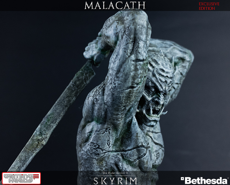 how to get to malacath statue