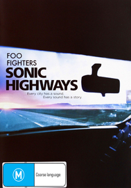 Foo Fighters - Sonic Highways on DVD