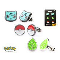 Pokemon Bulbasaur Earring Set