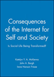 Consequences of the Internet for Self and Society image