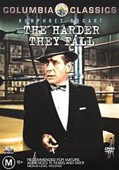 The Harder They Fall on DVD