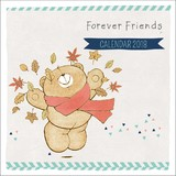Forever Friends 2018 Square Wall Calendar