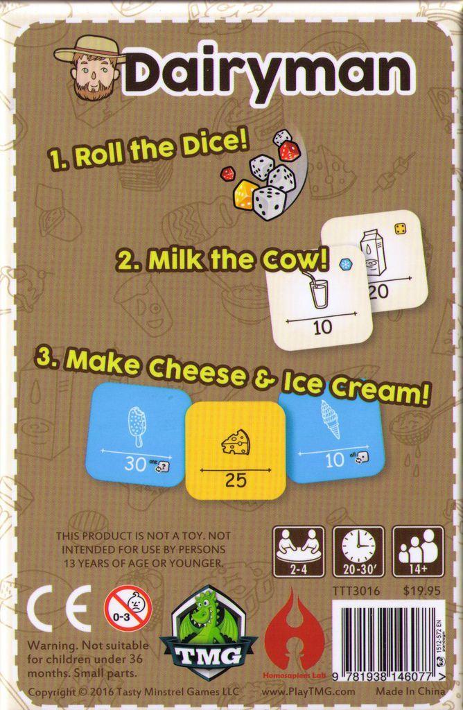 Dairyman - Card Game image