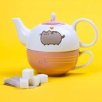 Pusheen Teapot & Mug Tea for One Set