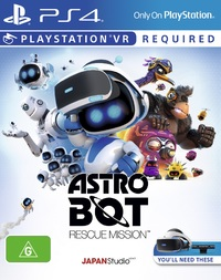 Astro Bot Rescue Mission VR for PS4