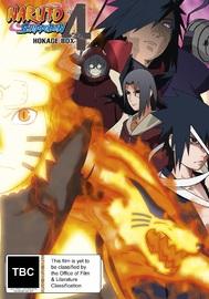 Naruto Shippuden Hokage Box 4 (eps 310-415) on DVD