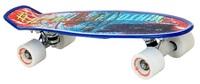"""Flybar: Nerf Grip Tape Cruiser - 22"""" Skateboard (Blue Paint) image"""