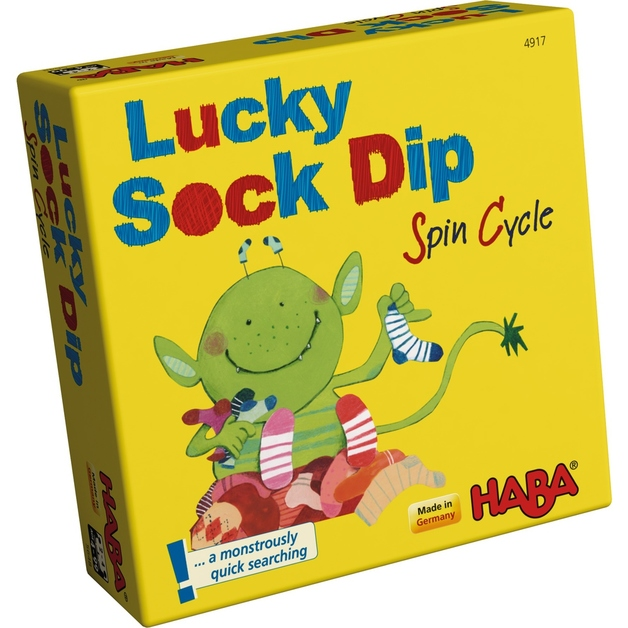 Lucky Sock Dip: Spin cycle - Children's Game