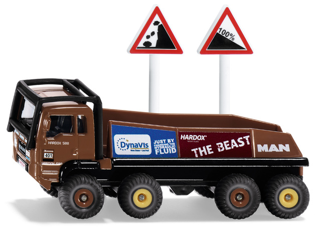 Siku: HS Schoch 8X8 MAN Truck - Diecast Vehicle