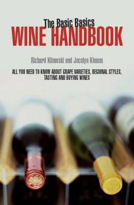 The Basic Basics Wine Handbook by Richard Kitowski image