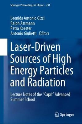Laser-Driven Sources of High Energy Particles and Radiation image