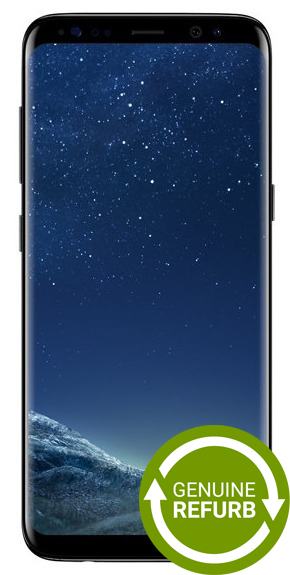 Samsung Galaxy S8+ (64GB/4GB RAM) - Midnight Black [Genuine Refurbished]