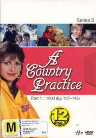 Country Practice, A - Series 3: Part 1 (12 Disc Box Set) on DVD image