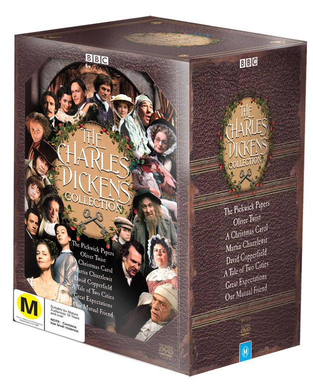The Charles Dickens Collection (12 Disc Box Set) on DVD