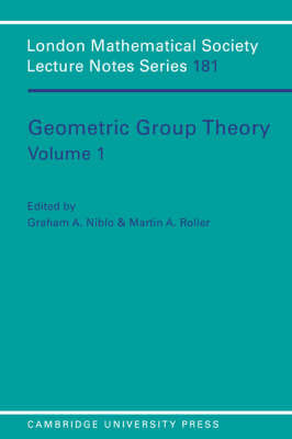 Geometric Group Theory: Volume 1