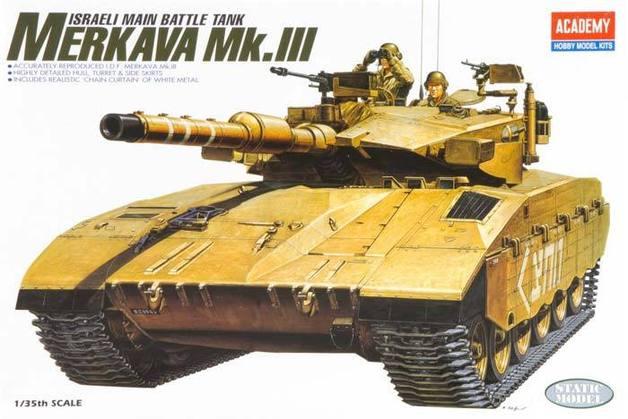 Academy I.D.F. Merkava MK III 1/35 Model Kit