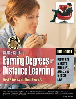 Bear's Guide to Earning Degrees by Distance Learning by Thomas Nixon image