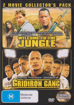 Welcome To The Jungle / Gridiron Gang - 2 Movie Collector's Pack (2 Disc Set) on DVD