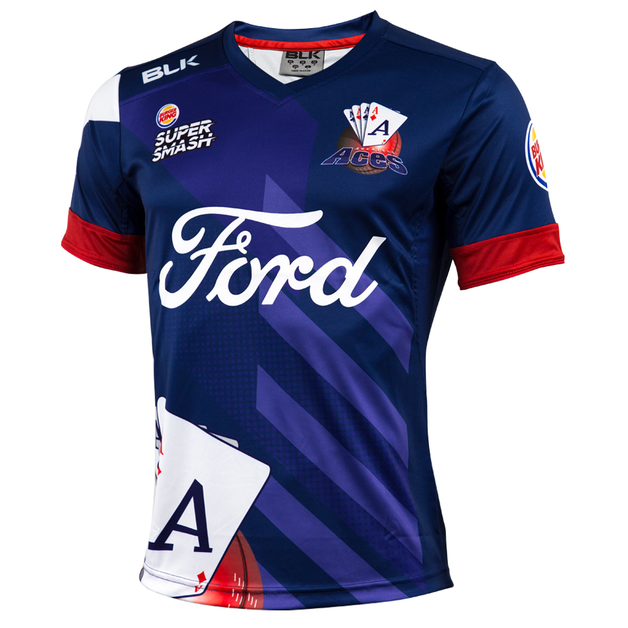 Auckland Aces 2017/18 Youth Replica Playing Shirt (Size 6)