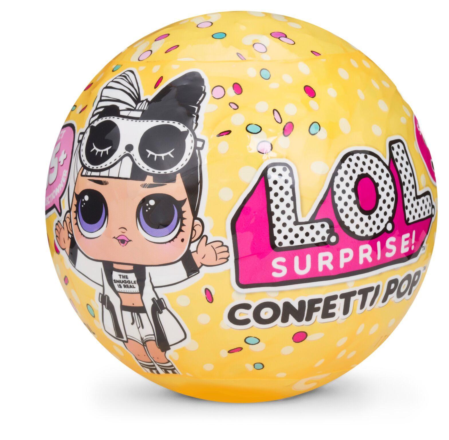 L.O.L: Surprise! Doll - Confetti Pop Tots S3 (Blind Bag) image
