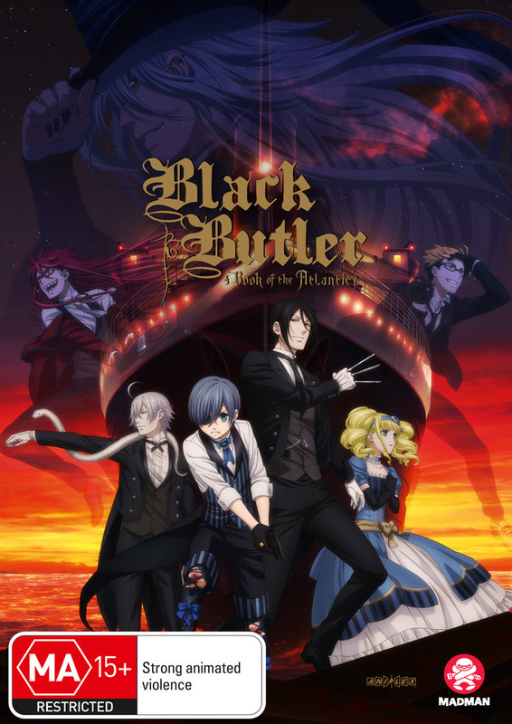 Black Butler: Book Of The Atlantic on DVD