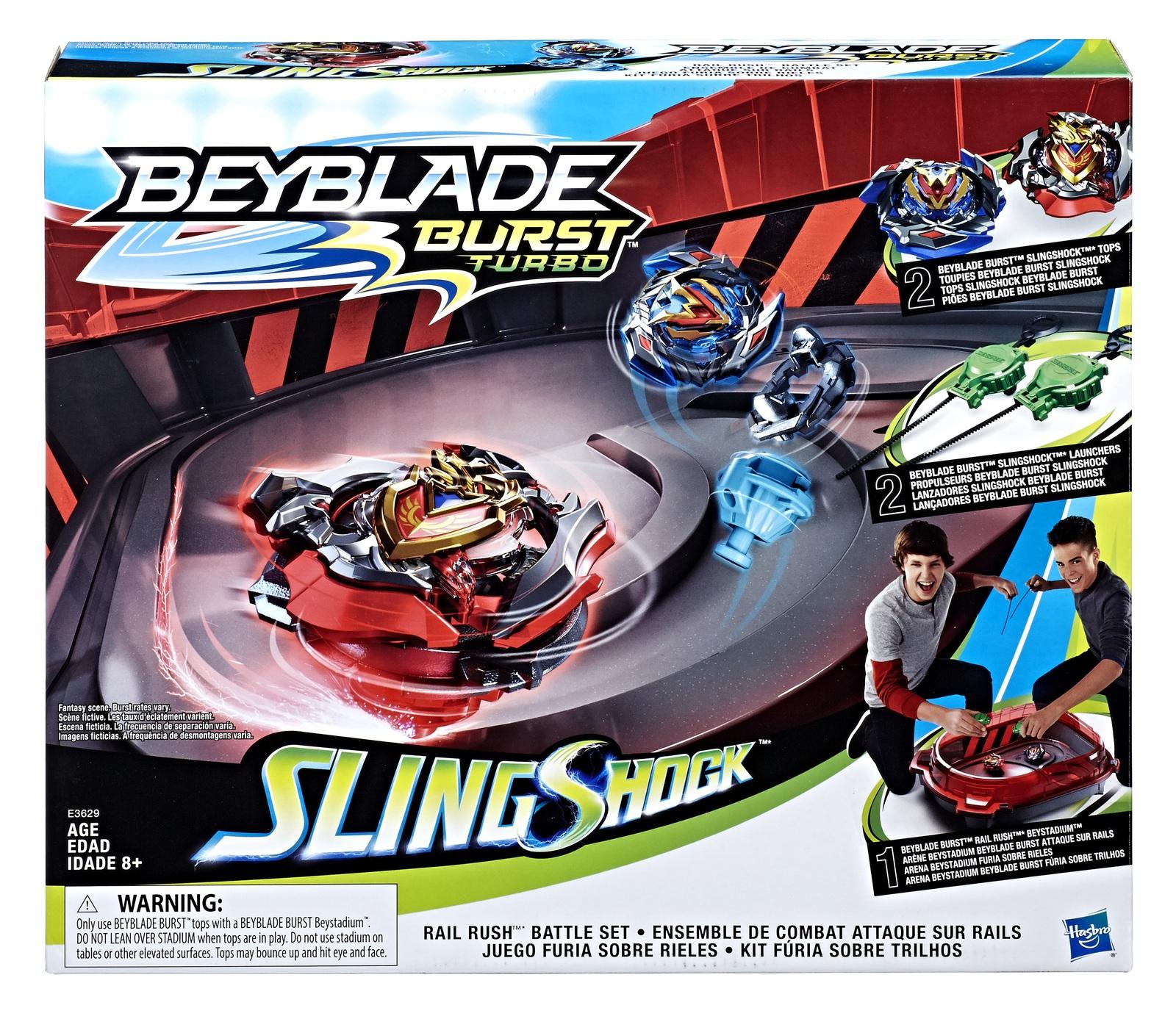 Beyblade Burst: Slingshock - Rail Rush Battle Set image
