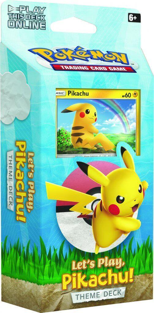 Pokemon Tcg Sun Moon Let S Play Theme Deck Pikachu At